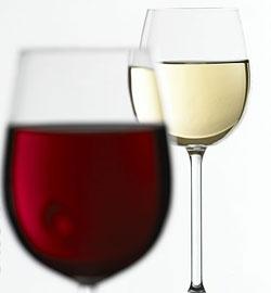 vino tinto o blanco: